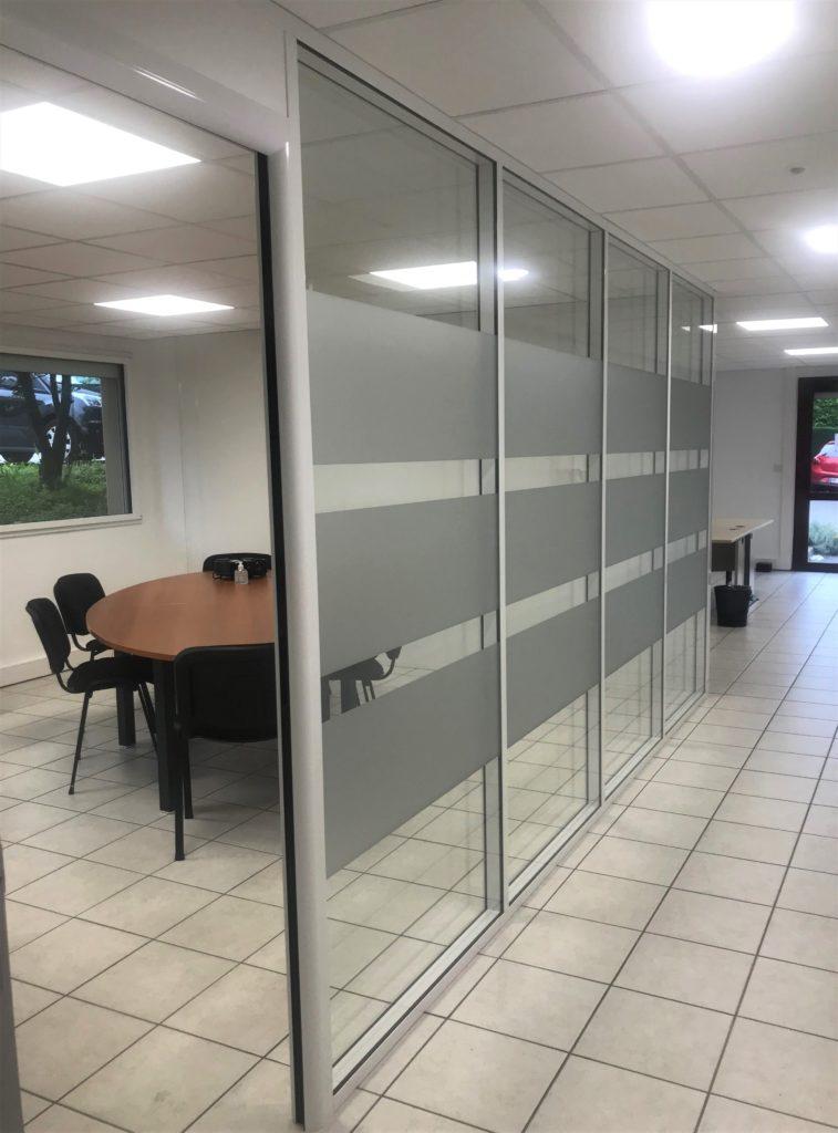 Fin des travaux : bureaux de Brignais