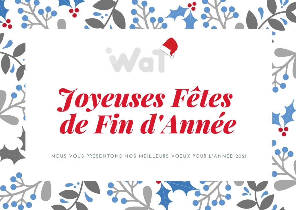 Actualités WAT : carte vœux
